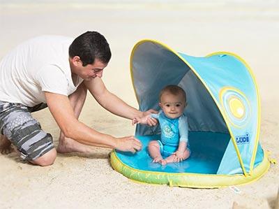 LUDI - Pataugeoire, bassin pour bébé à la plage